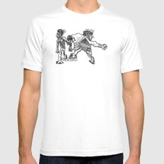 EiThEr Or LiMiTaTiOnS Mens Fitted Tee White MEDIUM