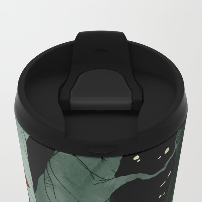 Snow White Lost in the Woods Metal Travel Mug