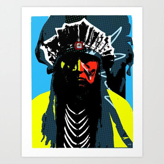 Indian Pop 51 Art Print