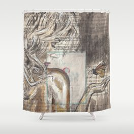 The Dream Girl Shower Curtain