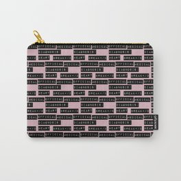 HEART</3BREAK pink sm Carry-All Pouch