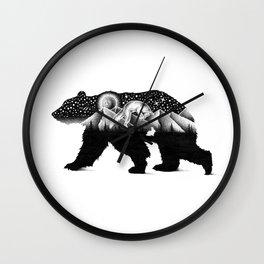 THE NIGHT HUNT Wall Clock