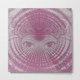 Ganesha Vortex Metal Print