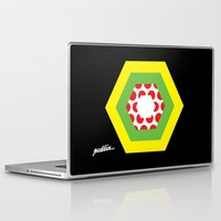 tour de france Laptop & iPad Skins featuring Tour de France Jerseys by Pedlin