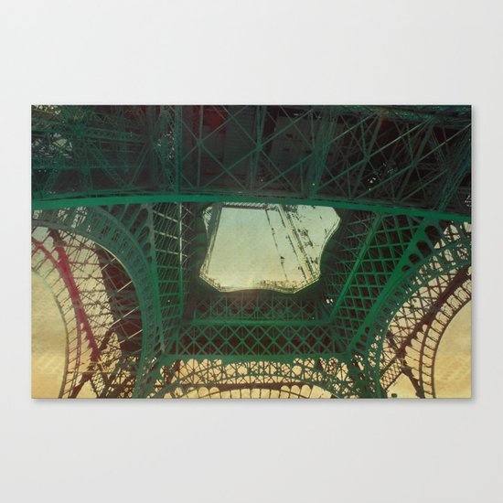 in the eye Canvas Print