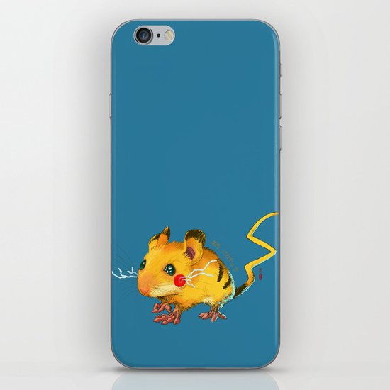 Electric Mouse iPhone Skin