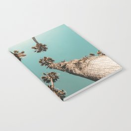 {1 of 2} Palm Trees = Happy // Teal Summer Sky Notebook