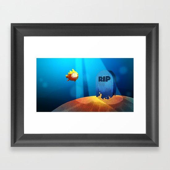 Puffer Framed Art Print
