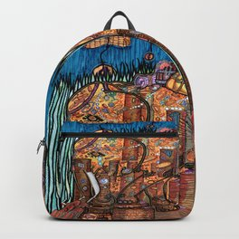 Gold Coins and Peanuts Backpack
