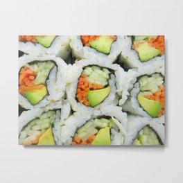 sushi. Metal Print