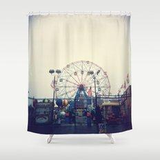 Coney Island II Shower Curtain