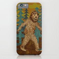 Bigfoot birthday card iPhone 6s Slim Case