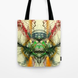 Chaos Waves Tote Bag