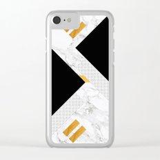 Classical Glorify Clear iPhone Case