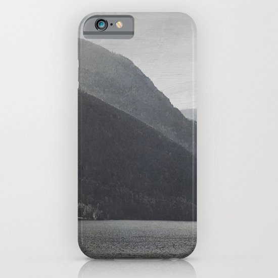In the Shadows of Mountains iPhone & iPod Case