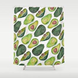 Avocado Slices Shower Curtain