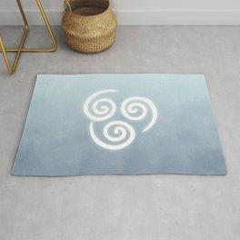 Avatar Air Bending Element Symbol Rug