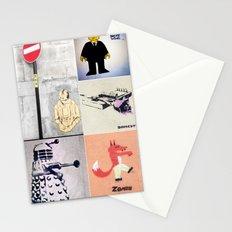 Graffiti Montage Stationery Cards