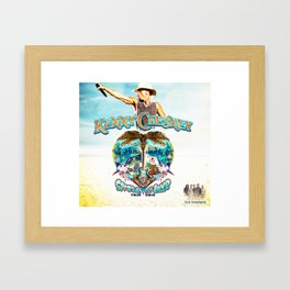 KENNY CHESNEY TOUR 2016 Framed Art Print