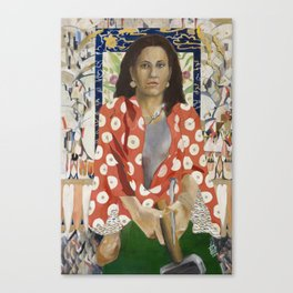 Yael Approaches the General Canvas Print