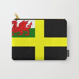 Flag of Saint David Carry-All Pouch