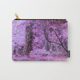Fantasy Tree Landscape: Orchid Pink Purple Carry-All Pouch