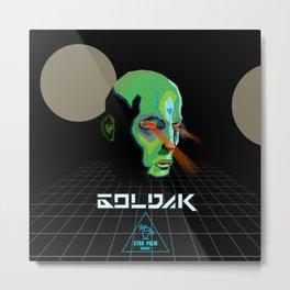 GOLDAK Metal Print
