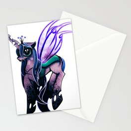 Queen Chrysalis. Stationery Cards