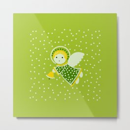 Angel on the green Metal Print