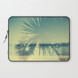 Double Exposure Porthminster Beach,St. Ives, Cornwall Laptop Sleeve