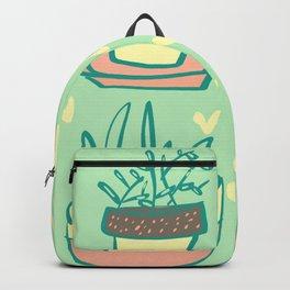 Plant Love Pastel Plant Design Backpack