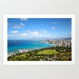 Hawaii Island Art Print