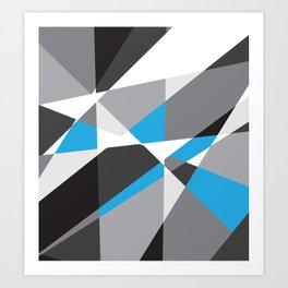 Geometrix 001 Art Print