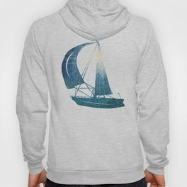 Toward the Water Surface / Oil Painting Hoody