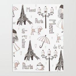 Paris Girl Poster
