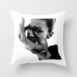 HAND-EYE COORDINATION No.3 Throw Pillow