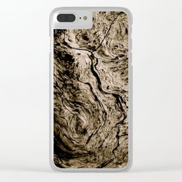With the Grain Clear iPhone Case