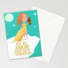 En El Amor Hay Que Perdonar Stationery Cards