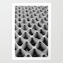 American Cement Building - Architectural Photography Art Print