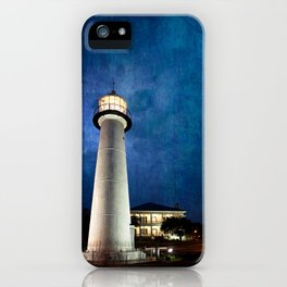 Lighthouse Blues iPhone Case