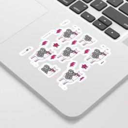 Sloth Llama Sticker
