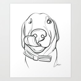 Order 1083 Cait Art Print