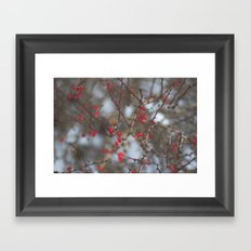 pop of red Framed Art Print