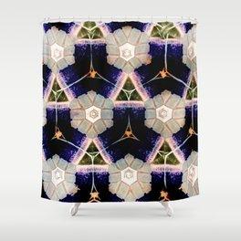 Modern Moroccan Royal Purple Shower Curtain