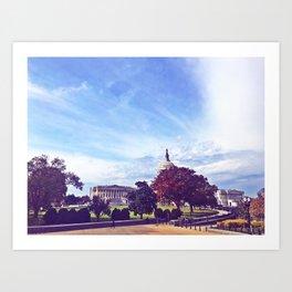 Capitol, My Capitol Art Print