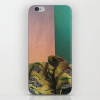 bed iPhone & iPod Skins featuring Bed by acrist