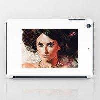 angel iPad Cases featuring Angel by Veronica  Kokoreva