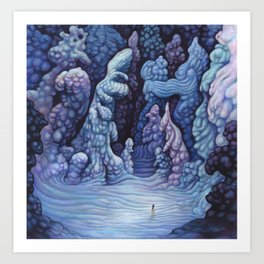 The Ice Giants Art Print