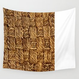 HEMP PATTERN Wall Tapestry