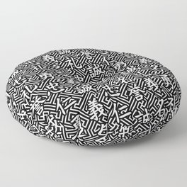 Bushido Seven Virtues Floor Pillow
